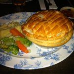 Steak and Blacksticks Blue pie - yummy