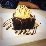 Rich Chocolate Brownie Desert!