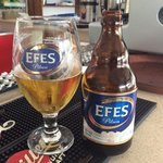 of course you have to have an Efes!!