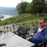 The view from the Rhine Terrace