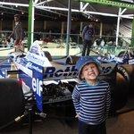 Lovin' the racing car