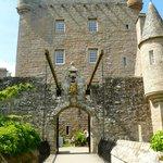 Drawbridge and tower