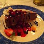 Desserten kan anbefales!