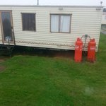 Close proximity of surronding caravans elm 31