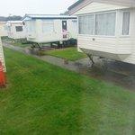 Close proximity of surronding caravans elm 31
