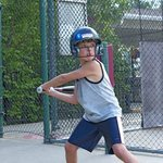 Swing away in the Batting Cages