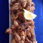 Halbe Portion Pantilla (Chipirones) - sehr lecker