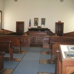 The court room
