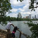 View of Austin from the Hike and Bike Trail