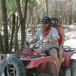 A ride through the Myan jungle!