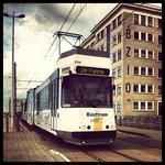 Kusttram t.h.v. Oostende Ravelingen