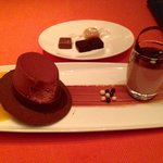 Cute and delicious dessert.