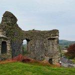 Castle overlooking Llandovery