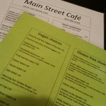 Vegan and gluten-free menu available upon request.  PLENTY of options!