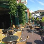 Why not enjoy your meal on our sunny terrace