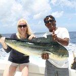 25lb Mahi we caught with captain Pedro