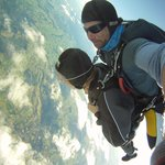 Casual full minute of freefall at 16000 feet.