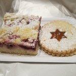 Cherry tart & Czech cookie