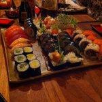 Mixed sushi!