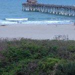view of Cocoa Beach Pier