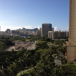 View from a Diamond Head/Oceanview room