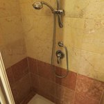 Shower in room 103 (hand shower proved invaluable for flushing our toilet)