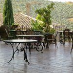 "View of / from ""our wine terrace""... you must spend your afternoon here"