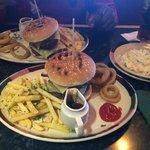 BBQ double burger yum