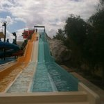 One of TWO adult slides at Aqualand.