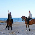 I booked an hour and a half horse ride along the beach. Approx £20 again well worth the money.