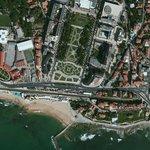 View of Estoril and Hotel de Inglaterra from heaven...