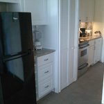 New and larger kitchen