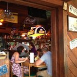 Inside funky Cooters