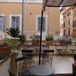 Corner of the terrace