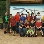 Troop 105 having a great time