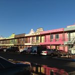 The infamous motel front