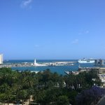 View from the roof pool/bar