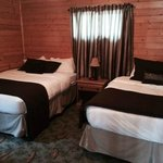 1 bedroom cabin w 2 queen  beds
