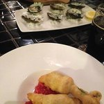 Zucchini Flowers & Oysters