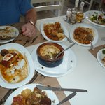 We kept eating!