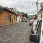 La calle donde está ubicado el lugar