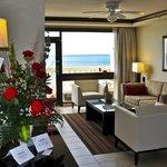 Penthouse Suite, Living Area, Bucuti & Tara Beach Resorts Aruba