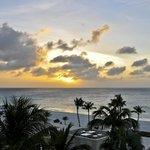 Sunset view from Penthouse balcony, Bucuti & Tara Beach Resorts Aruba