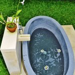 TELEK room: Open Air Bath Tub