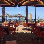 Beach 14. (beach of the hotel)