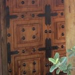 Door to chalet - NO lock