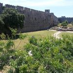 gardens medieval city