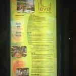 C Level menu