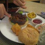 Great burger but overpriced