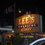 Lee's is on a busy road, but walkable from our hotel